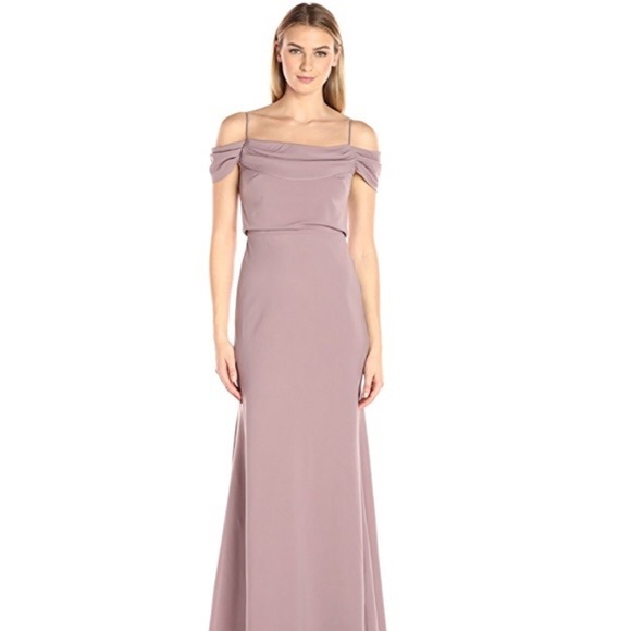 Jenny Yoo Dresses & Skirts - Jenny Yoo Sabine dress in fig size 12 long gown